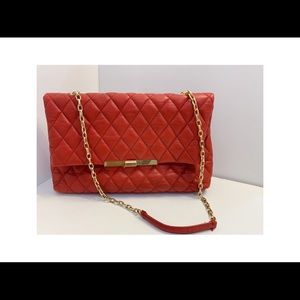 ZARA quilted leather chain bag purse